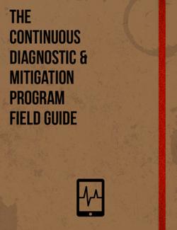 The Continuous Diagnostic And Mitigation Cdm Field Guide