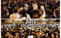 2005 vs 2013 Pope