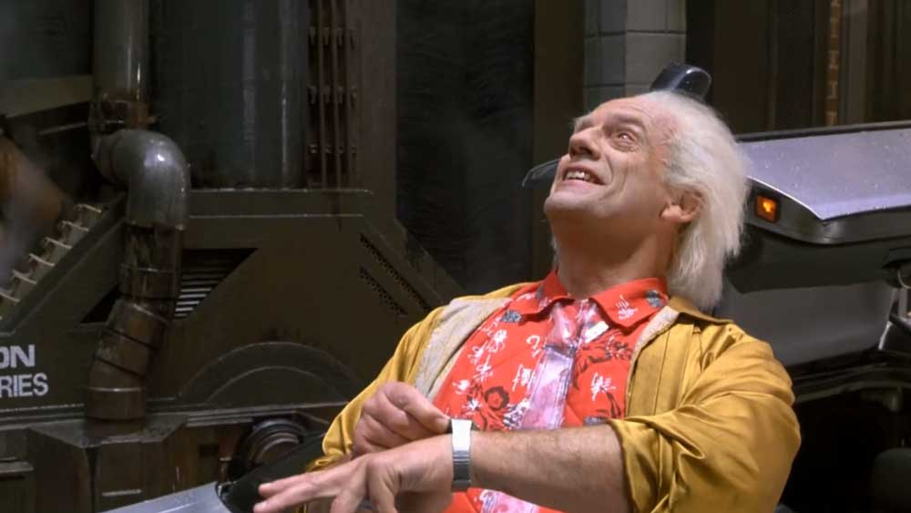 Government weather control in Back to the Future II