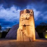 Washington, DC, USA - October 10, 2012: Memorial to Dr. Martin L