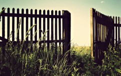 open fence