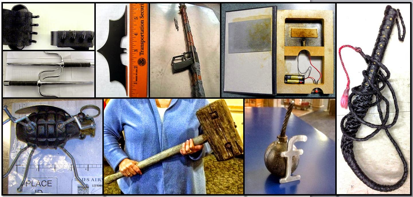 TSA blog airport confiscated items