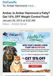 Subject line: Amber, Is Amber Hammond a Fatty?...