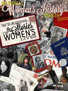 Women's History Month 2015 Poster