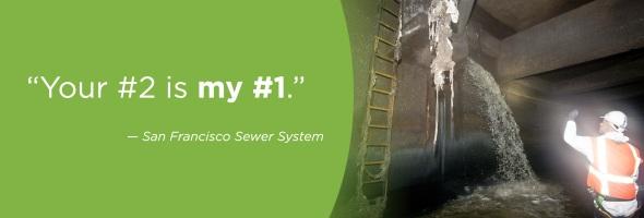 SFPUC sewage funny government ad campaign