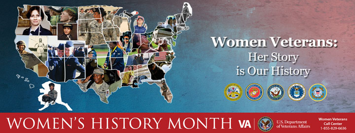 Women's History Month Veterans Affairs