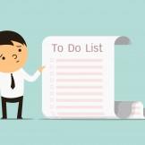 to do list businessman