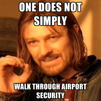 one-does-not-simply-walk-through-airport-security