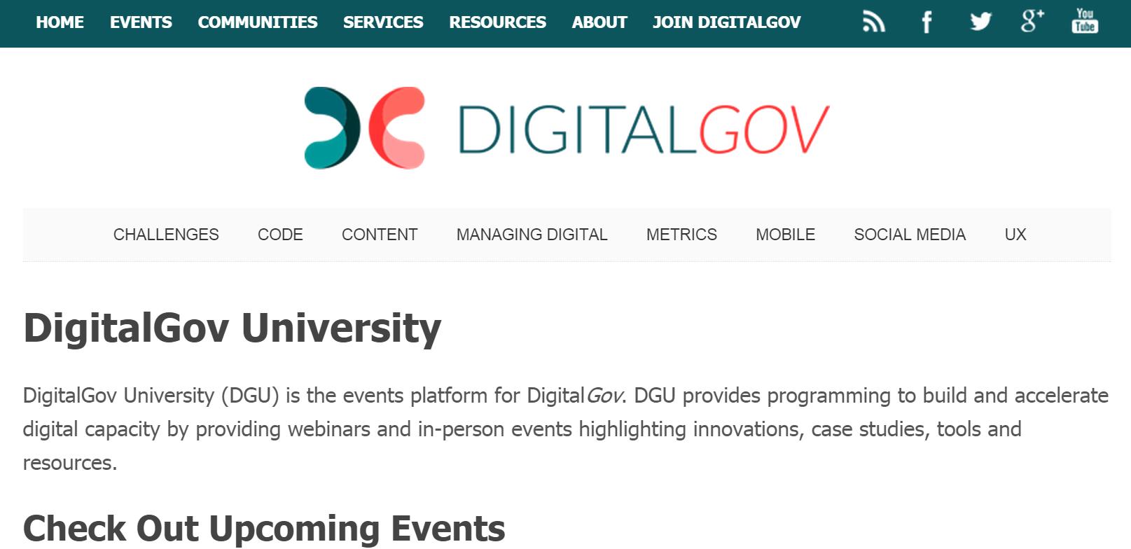 digitalgov-university-screenshot