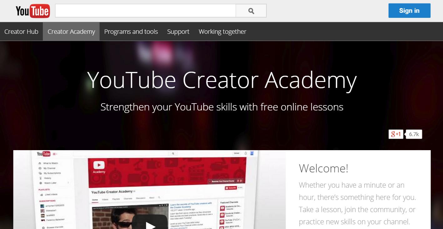 youtube-creator-academy-screenshot