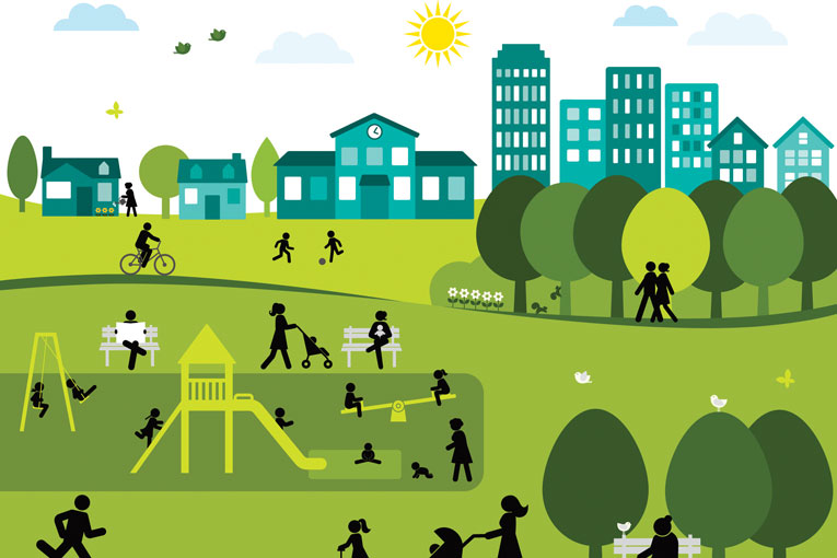 a healthy community Health impacts health impacts describe the link between determinants of a healthy living environment and specific health conditions the research and analysis that establishes these links is cited in the technical appendix of the existing conditions report.