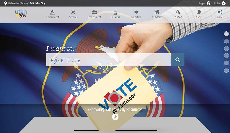 Utah.gov screenshot best government websites