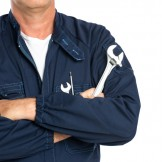 Mechanic With Spanner