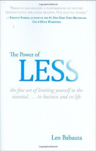 power-of-less-leo-babauta-zenhabits