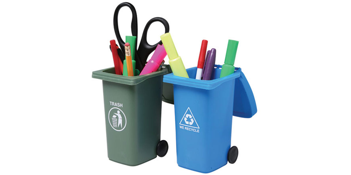 office-gift-recycling-trash-can-pen-holder