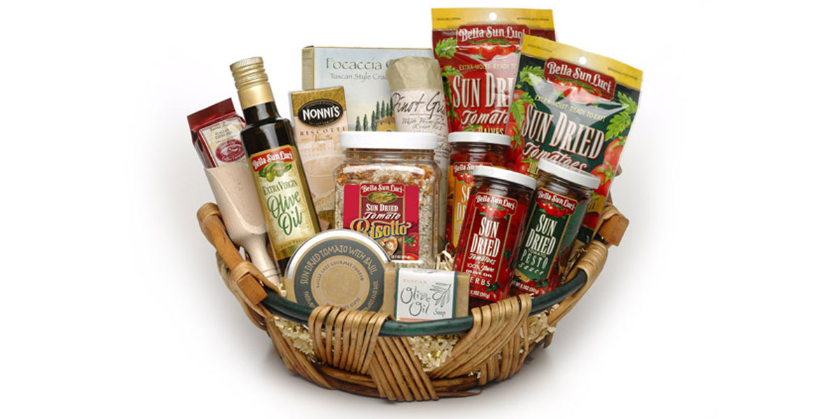 All Natural Food Gift Baskets