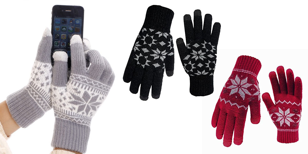 holiday gift idea touchscreen gloves
