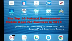The top 10 general purpose federal government mobile apps for business professionals
