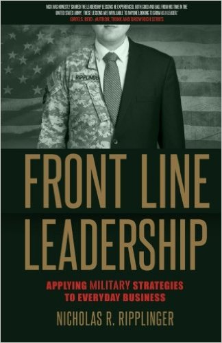 front-line-leadership-military-strategies-business-nicholas-ripplinger-book-cover