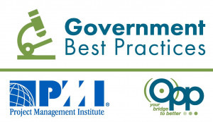 PMI/OPP Government Best Practices logo