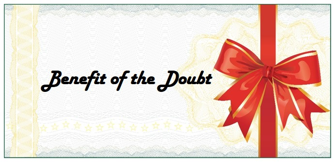 Benefit of the Doubt Gift Card
