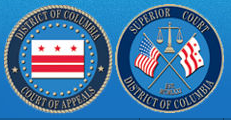 Logos of DC Courts