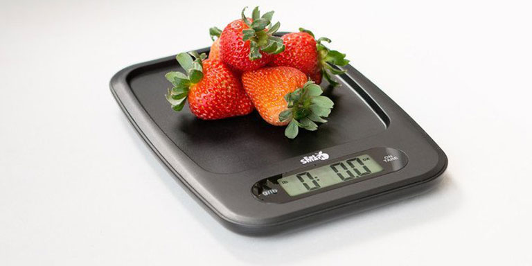 holiday gift idea - EatSmart Precision Digital Kitchen Scale