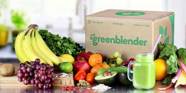 holiday gift ideas GreenBlender smoothie delivery meal kit