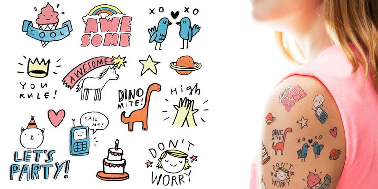 holiday gift ideas Tattly temporary tattoos