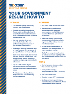 Download Now  Government Resume