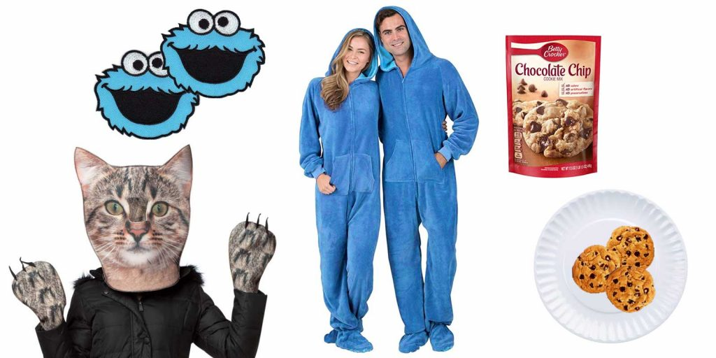 easy Halloween costume idea, government costume theme, Cat Pajama Jam plate of cookies