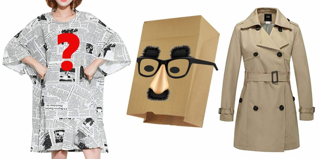 easy Halloween costume idea, government costume theme, Anonymous Op-Ed Source