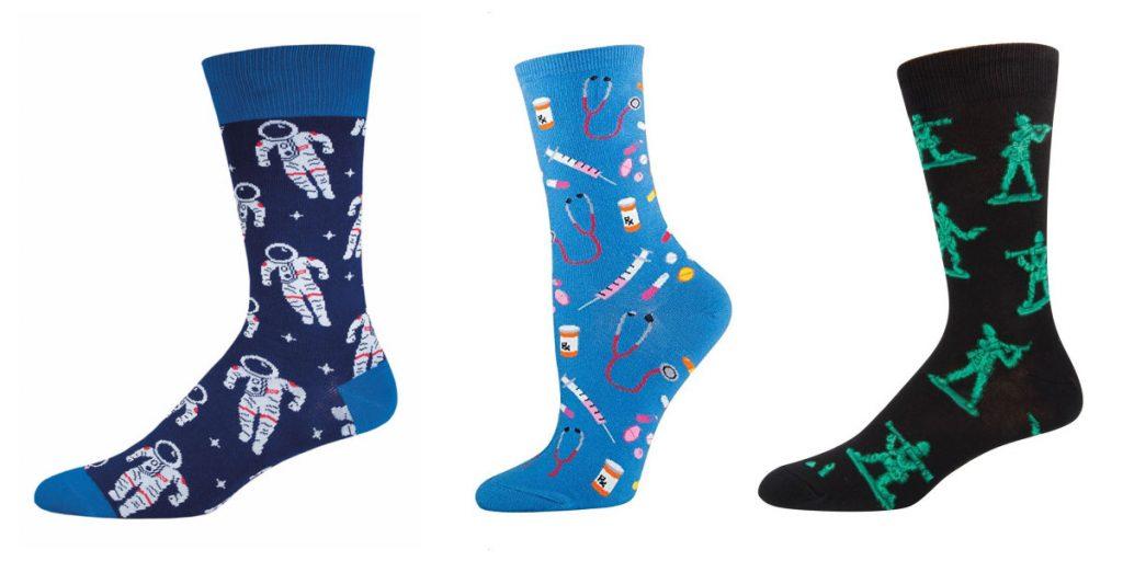 novelty socks holiday gifts