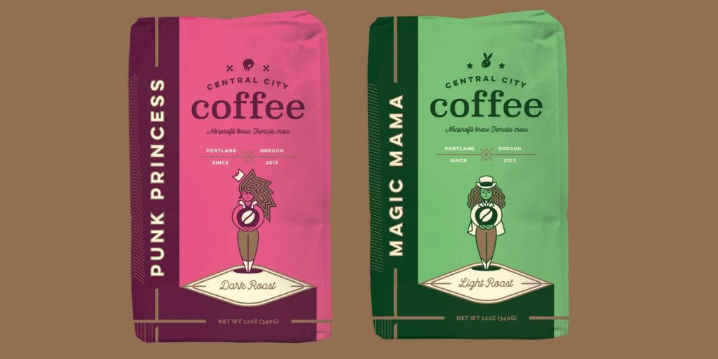 images of Central City Coffee varieties