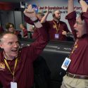 Mars InSight lander team celebrates successful landing