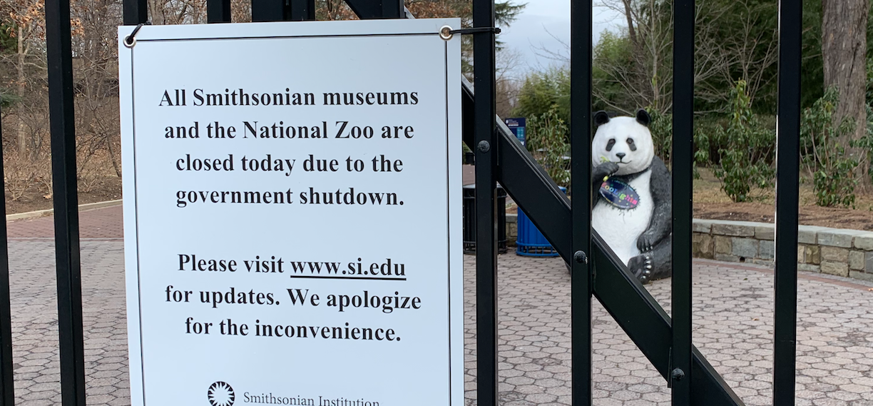 National Zoo shutdown