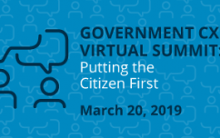 image link for Mar. 20 – Government CX Virtual Summit: Putting the Citizen First