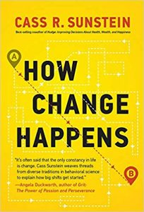 book cover of How Change Happens by Cass R. Sunstein