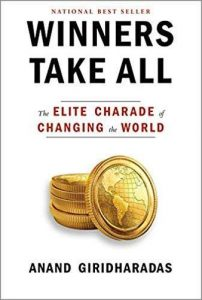 book cover of Winners Take All by Anand Giridharadas