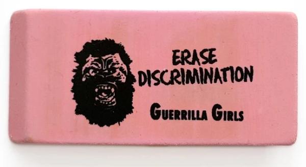 Guerrilla Girls eraser