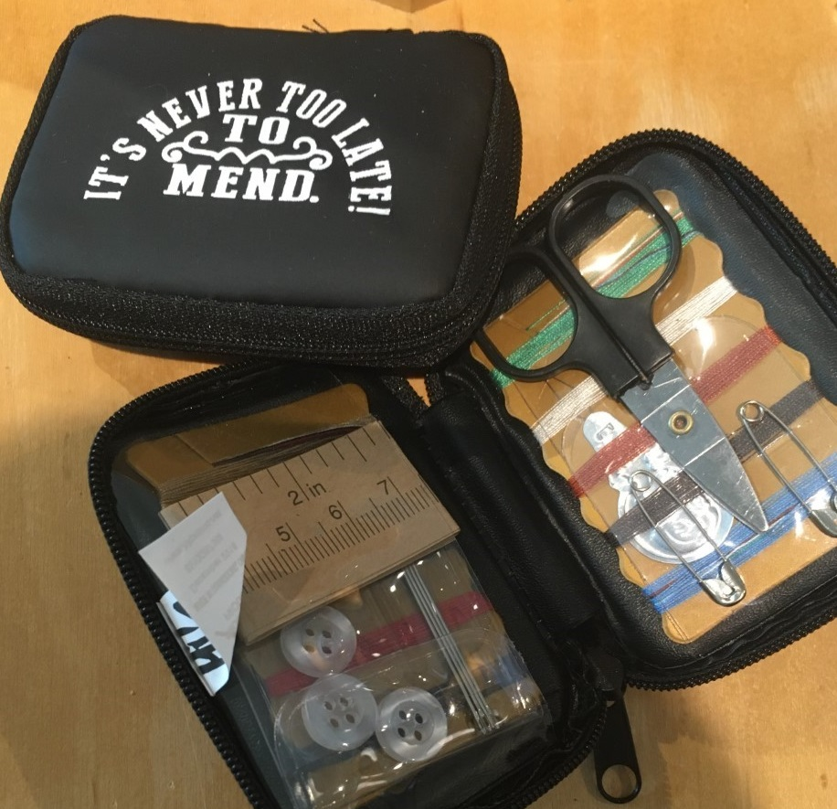 Old Joliet Prison sewing kit