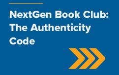 image link for June 25 – NextGen Book Club: The Authenticity Code